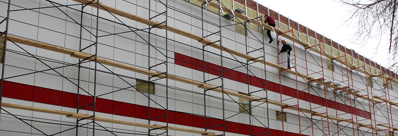 Фасадные работы в Киеве – обустройство Вашего здания!