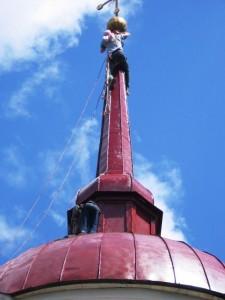 ремонт церкви